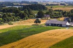 Parc de paysage de Suwalki, Pologne Images libres de droits