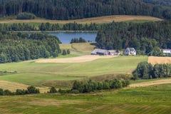 Parc de paysage de Suwalki, Pologne Photos stock