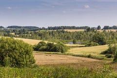 Parc de paysage de Suwalki, Pologne Photo libre de droits