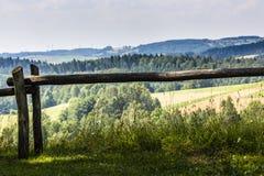 Parc de paysage de Suwalki, Pologne Image stock
