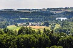 Parc de paysage de Suwalki, Pologne Images stock
