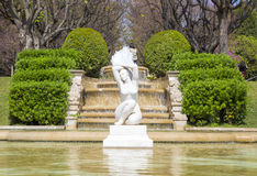 Parc de Pedralbes in Barcelona Stock Photo