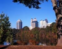 Parc de Piémont, Atlanta, Etats-Unis. Photos stock