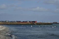 Parc de plage de baie de Køge Image libre de droits