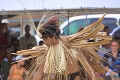 Parc de plage de Kapa'a, Kapaa, Kauai, Hawaï - 1er août 2010 : Jeune images libres de droits