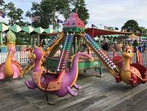 Parc de Playland à Rye, New York images stock