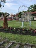 Parc de Playland à Rye, New York image libre de droits