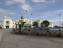 Parc de Playland à Rye, New York images libres de droits