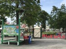 Parc de Playland à Rye, New York image stock