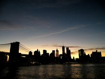 Parc de pont de Brooklyn Photo stock