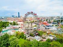 Parc de Prater à Vienne photos stock