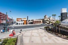 Parc de récipient à Las Vegas du centre Images libres de droits
