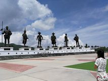 Parc de Rajapakdi images libres de droits