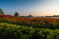 Parc de Rama 9, Bangkok, Thaïlande Photo stock