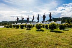 Parc de Ratchapakdi, Thaïlande Photographie stock