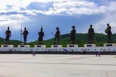 Parc de Ratchapakdi, Thaïlande Photographie stock libre de droits