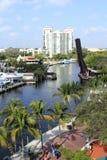 Parc de Riverwalk Image libre de droits