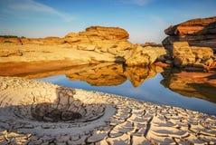 Parc de roche de 3000 Boke Images stock