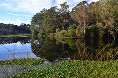 Parc de Roosevelt, Montevideo Images libres de droits