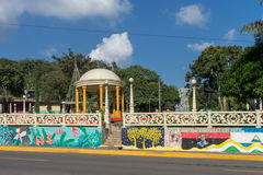 Parc de San Ramon de Matagalpa, Nicaragua Photos stock