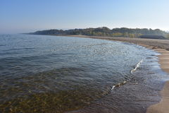 Parc de Sandy Beach At Holland State photos stock