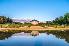 Parc de Sceaux и свои легендарные сады Le NÃ'tre Стоковое фото RF