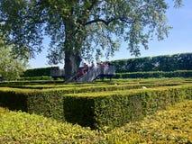 Parc de Schonbrunn à Vienne Photographie stock