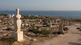 Parc de sculpture, Ayia Napa Chypre Photographie stock libre de droits