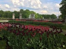 Parc de sculpture d'Oslo Norvège Vigeland Photos libres de droits
