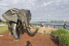 Parc de sculpture en Windsor Photographie stock