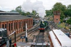 PARC DE SHEFFIELD, SUSSEX/UK EST - 8 SEPTEMBRE : L'anglais de vapeur de classe de C photos libres de droits