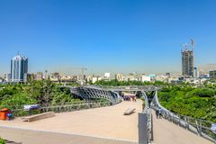 Parc 10 de Téhéran ab-o Atash photo stock