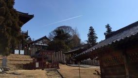 parc de temple de Nara image stock