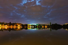 Parc de titan à Bucarest Photos libres de droits