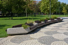 Parc de titan, Bucarest Image stock