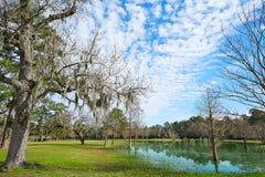 Parc de Tomball Burroughs en Houston Texas photos stock