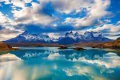 Parc de Torres del Paine images libres de droits