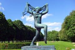 Parc de Vigelands Photo stock