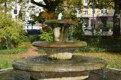 Parc de ville dans Baden-Baden, Allemagne 04 Image libre de droits