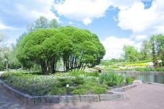 Parc de ville dans Kotka Photographie stock libre de droits