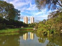 Parc de ville de Toa Payoh, Singapour Photos stock