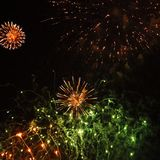 Parc de Wansted de feux d'artifice Photographie stock libre de droits