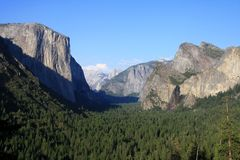 Parc de Yosemite Natonal, EL Capitan Images stock