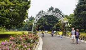 Parc de Yoyogi à Tokyo Photographie stock libre de droits