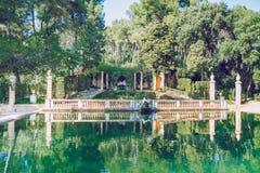 Parc del Laberint Барселона Фото 2013 перемещения стоковое изображение