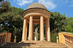 Parc del Laberint d'Horta in Barcelona, Spain Royalty Free Stock Photo
