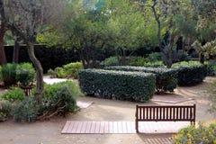Parc del laberint - Jardà museu 库存图片