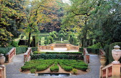 Parc Del Laberint, jardà muzeum - Obraz Royalty Free