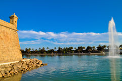 Parc Del Mar Lizenzfreie Stockfotos