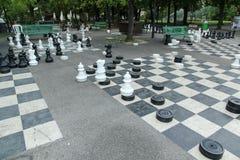Parc des-bastioner i Genève, Schweiz arkivbild